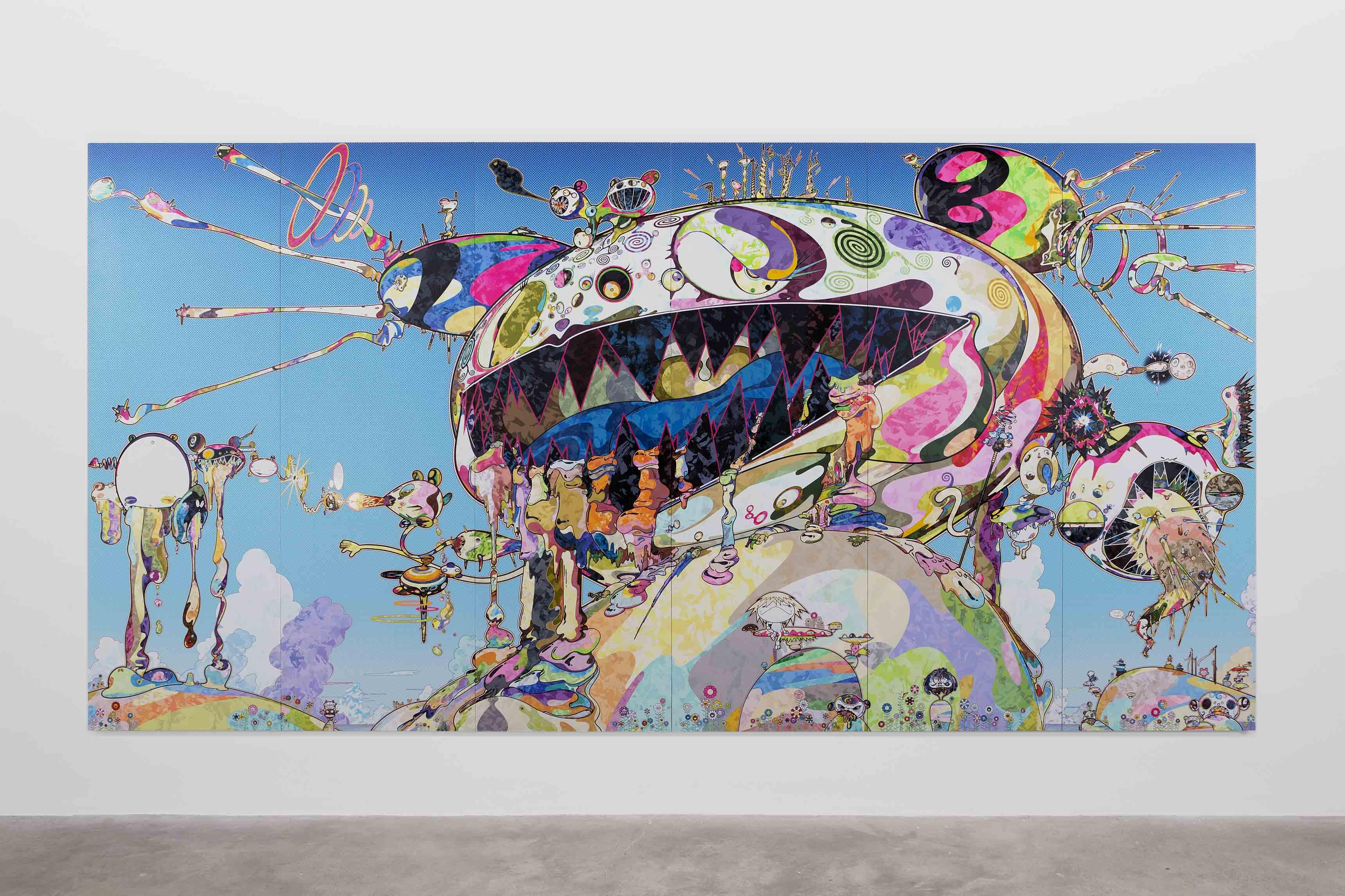 Takashi Murakami, A.k.a Gero Tan : Noahs Ark, 2016.
