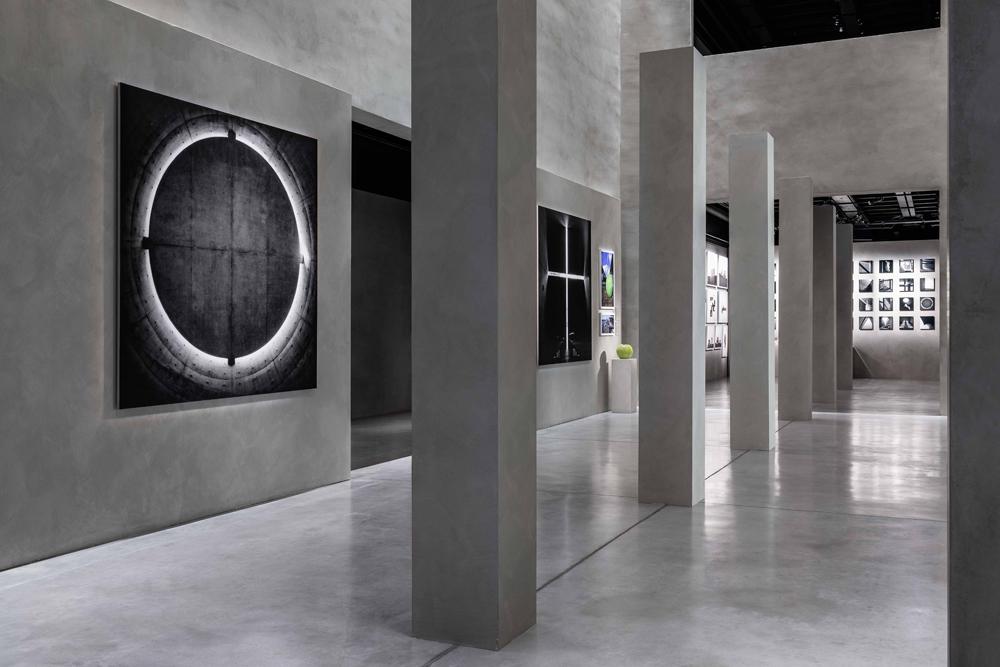 "Vue de l'exposition ""The Challenge"" consacrée à Tadao Ando. ©Delfino Sisto Legnani et Marco Cappelletti."