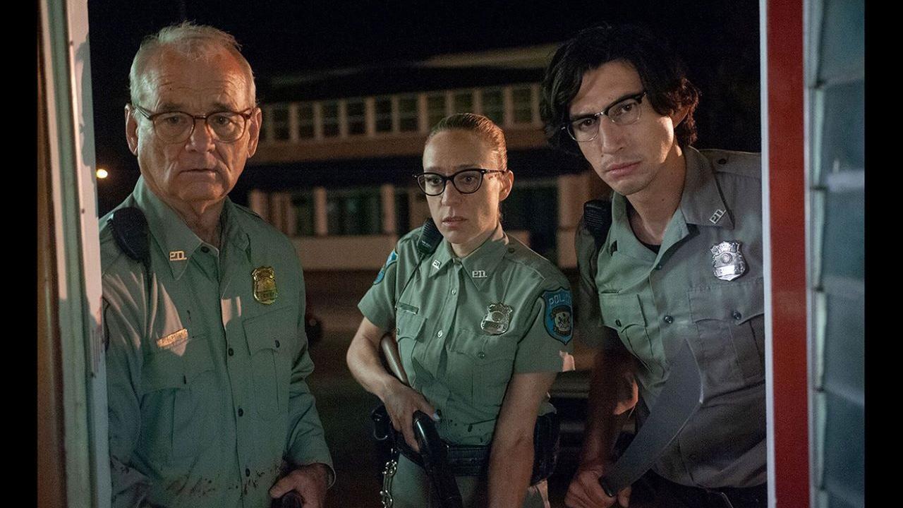 "Bill Murray, Chloë Sevigny et Adam Driver dans ""The Dead Don't Die"" de Jim Jarmusch."