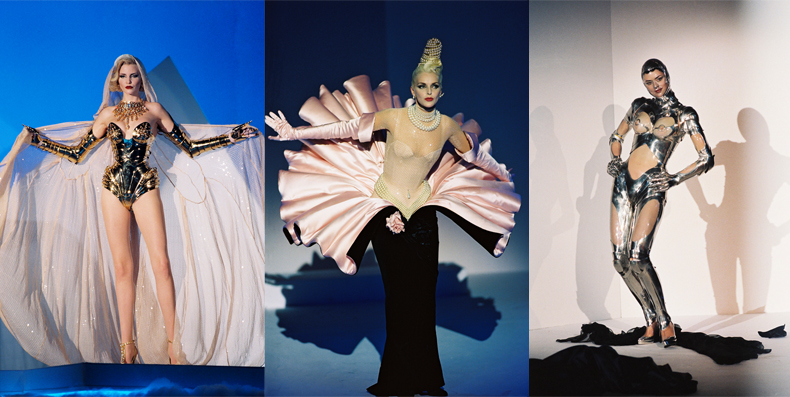 Thierry Mugler, collection haute couture automne-hiver 1995-1996. Photo : Patrice Stable.