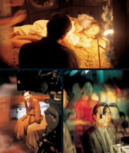 "Photos de plateau prises sur les tournages de ""In the Mood for Love"" et ""2046"""