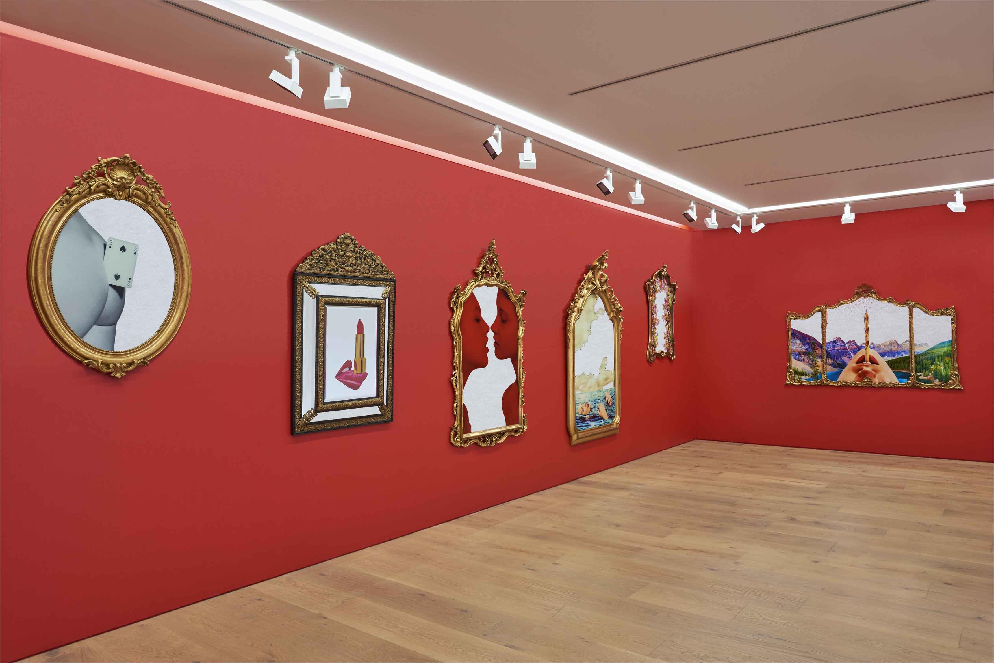 View of the exhibition TOILETPAPER – Collaboration between Maurizio Cattelan & Pierpaolo Ferrari at Perrotin, Tokyo, 2017-2018 Photo: Masahiro Miramatsu © TOILETPAPER Courtesy Perrotin