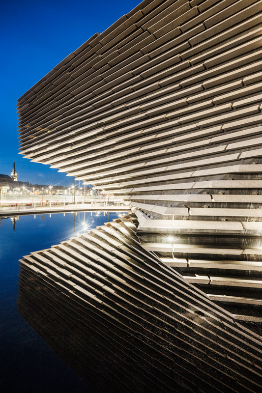 Images : courtesy of V&A Dundee, photo : Ross Fraser McLean