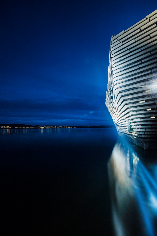 Images : courtesy of V & A Dundee, photo : Ross Fraser McLean