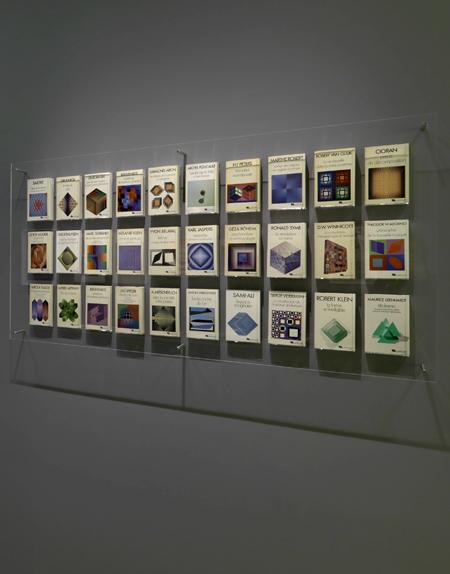 Collection Tel des éditions Gallimard, 1976-1985. Photographie : Philippe Migeat. [image recadrée]