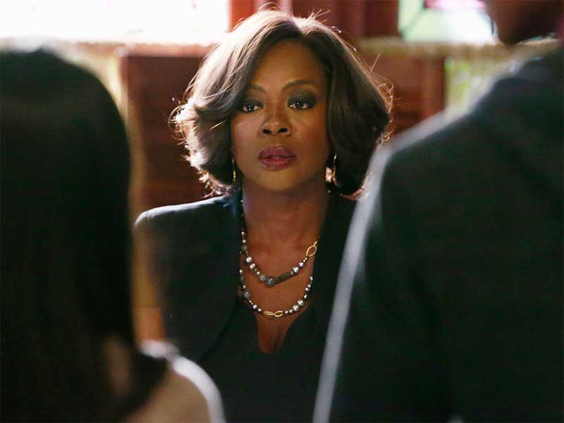 "Viola Davis, dans la peau d'Annalise Keating, dans la série ""How To Get Away With Murder""."