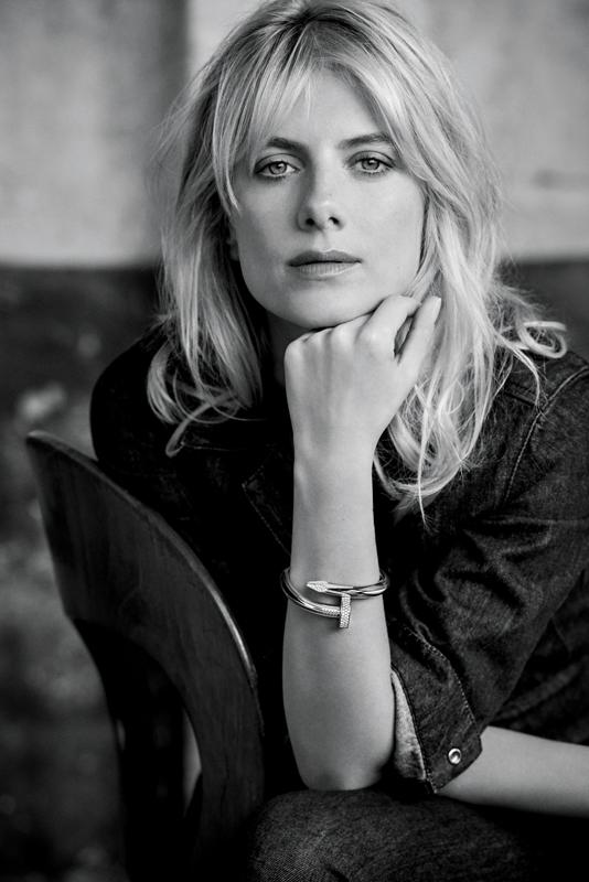 Mélanie Laurent photographiée par Matthew Brookes
