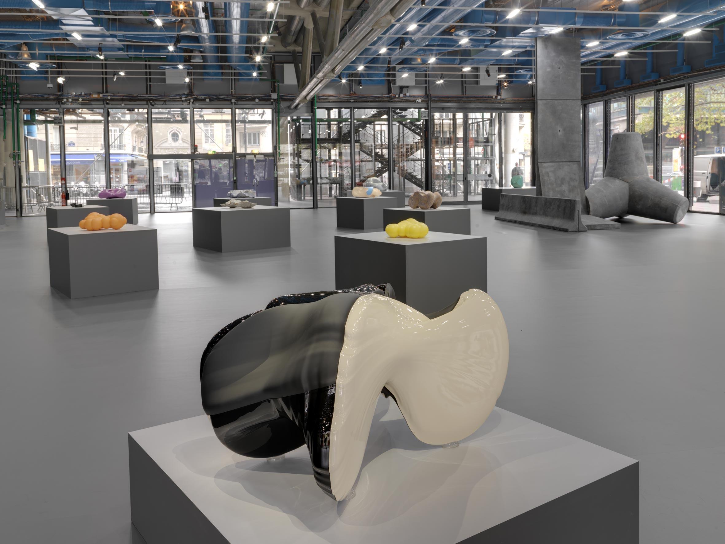 Vue de l'exposition de Jean-Luc Moulène au Centre Pompidou.