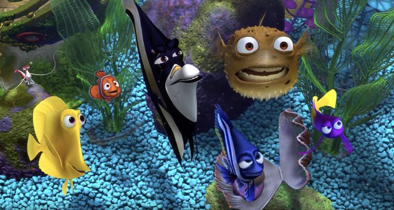 """""""Le Monde de Nemo"""" d'Andrew Stanton et Lee Unkrich (2003)"""