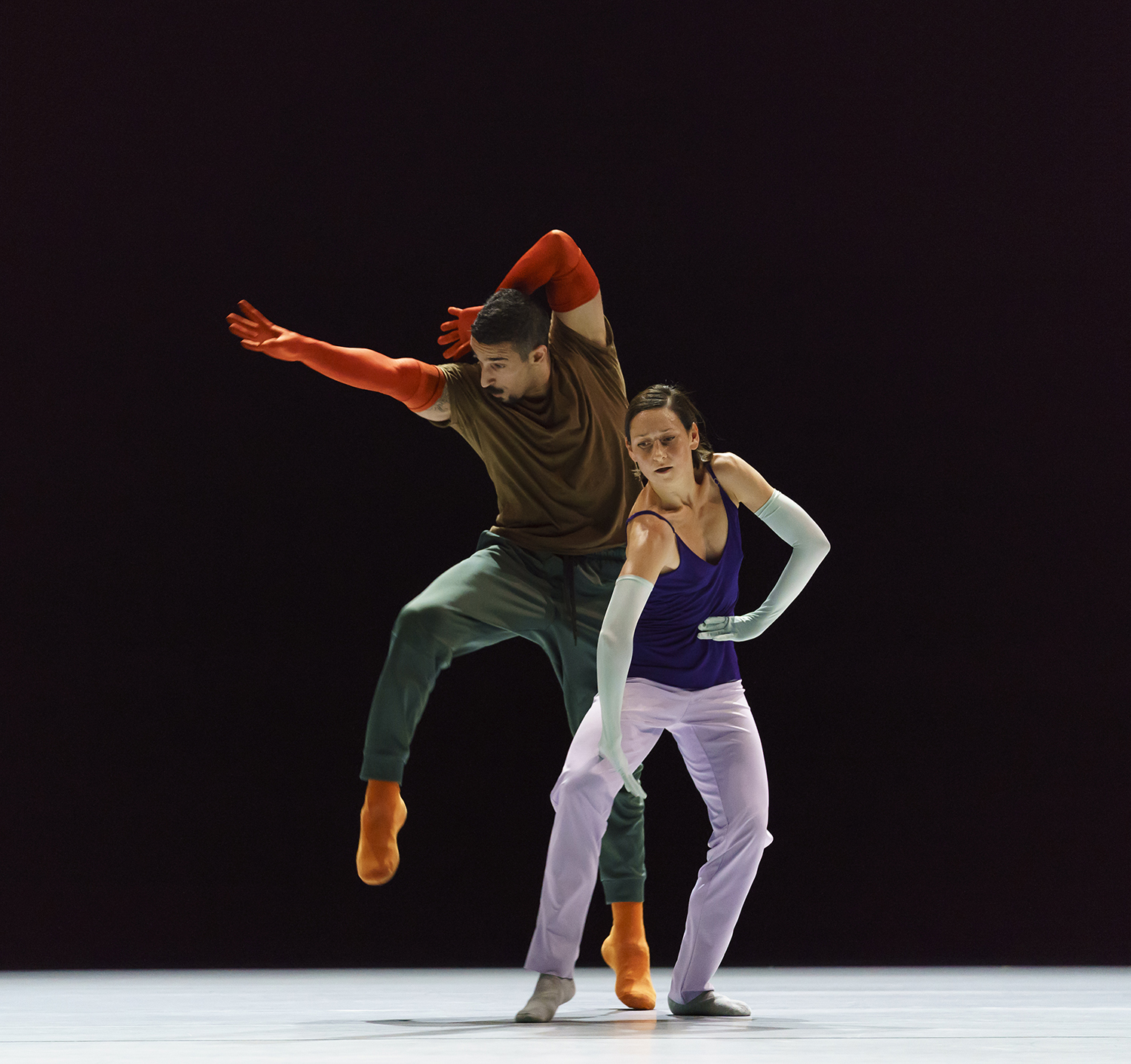 """A Quiet Evening of Dance"" (2019) de William Forsythe © Bill Cooper"