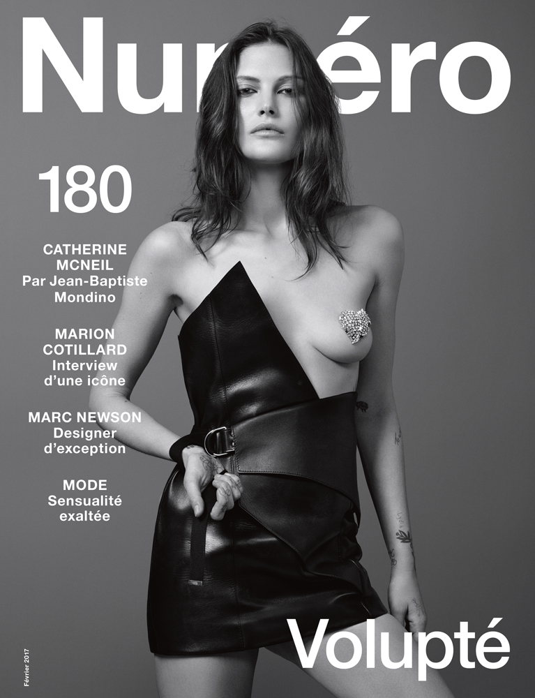 Photos : Jean-Baptiste Mondino. Art direction : Babeth Djian. Model : Catherine McNeil chez Oui Management.