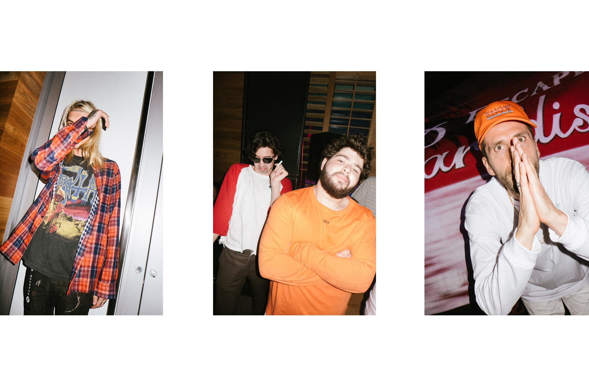 Bradley Soileau,Gianni Mora, Alex Gucci2times2 etMichael Dupouy.