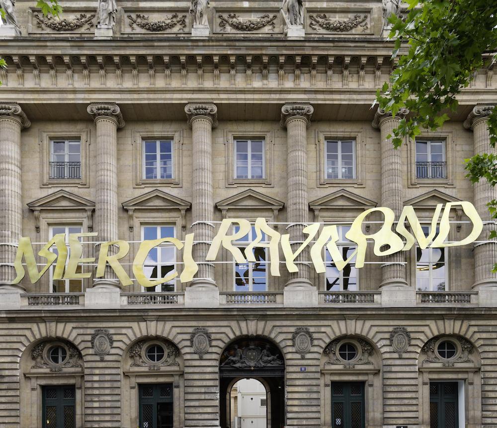"""L'expo à ne pas rater : """"Merci Raymond par Bertrand Lavier"""" à la Monnaie de Paris"""