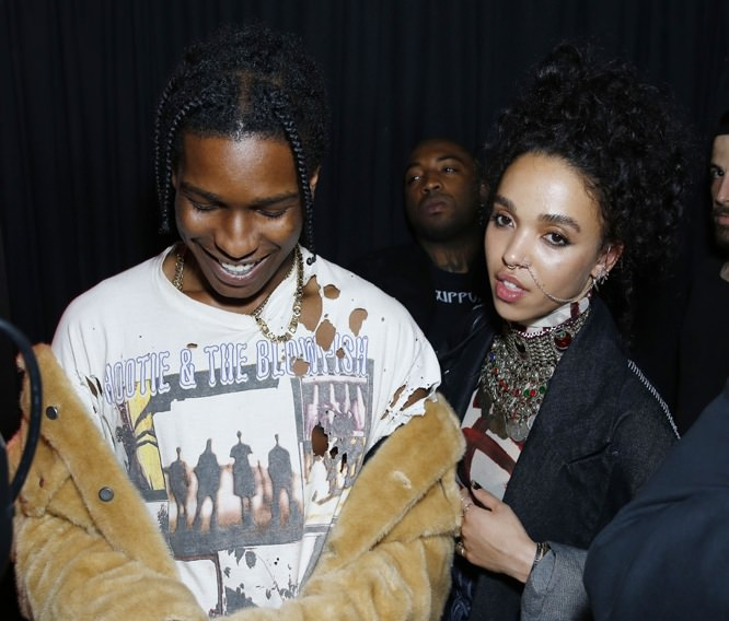 A$ap Rocky and FKA Twigs.