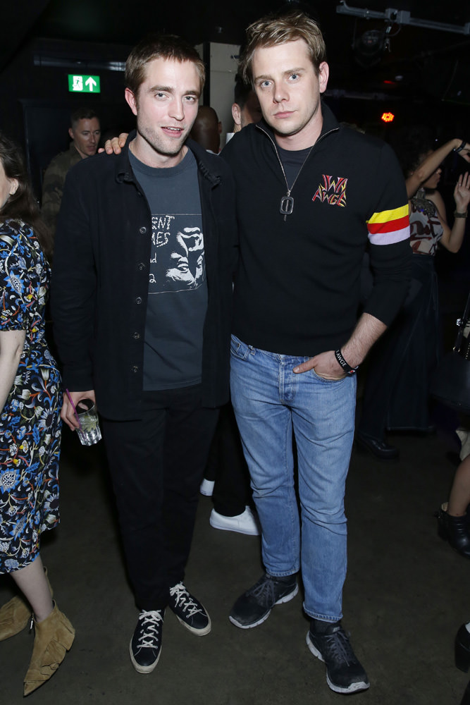 Robert Pattinson and Jonathan Anderson.