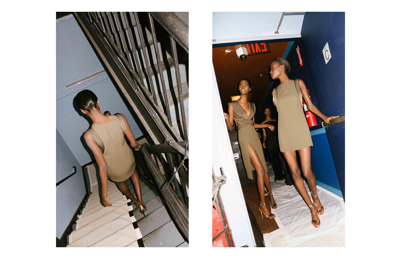 Backstage: Brandon Maxwell spring-summer 2017 fashion show