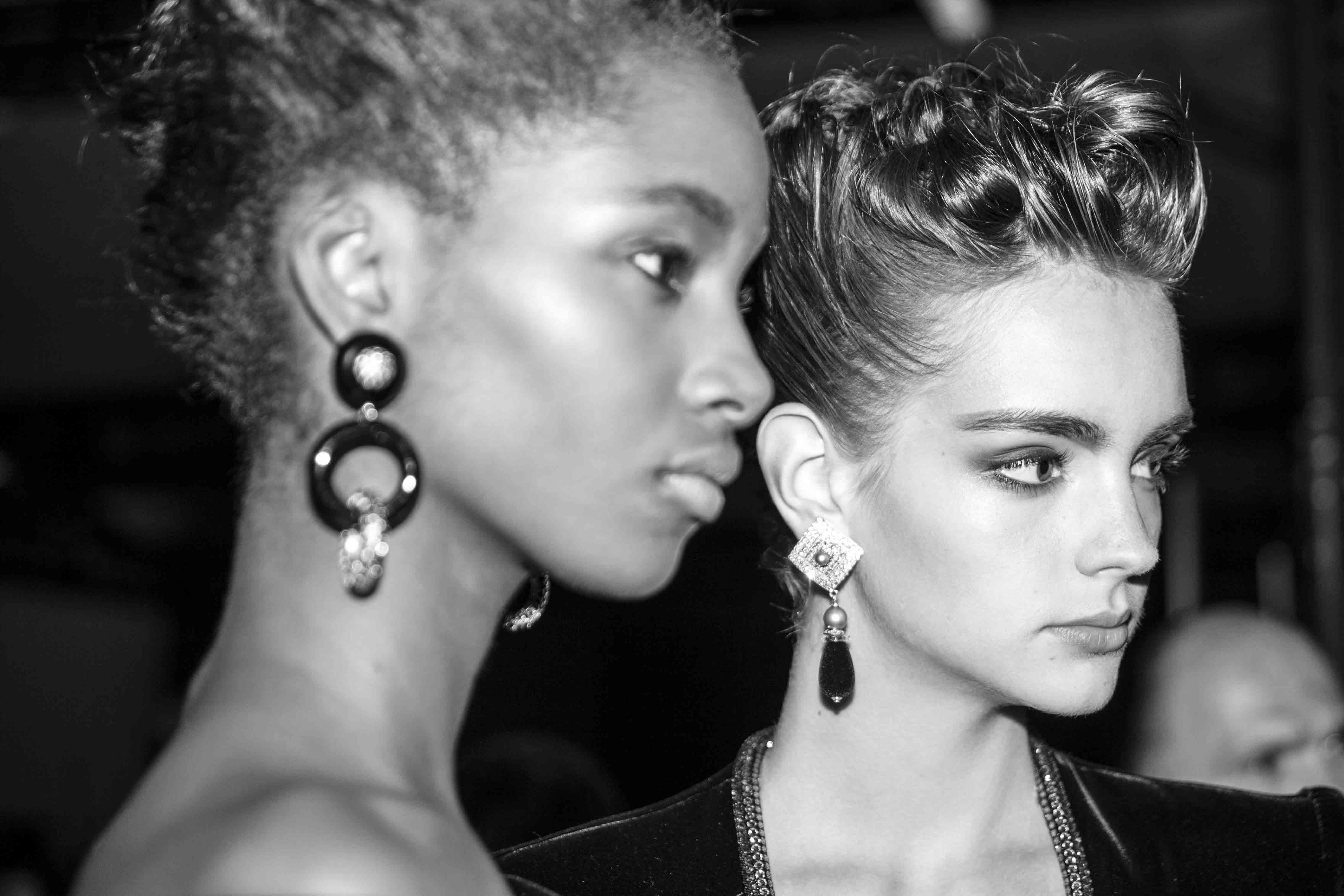 Backstage : le défilé haute couture Giorgio Armani Privé automne-hiver 2016-2017