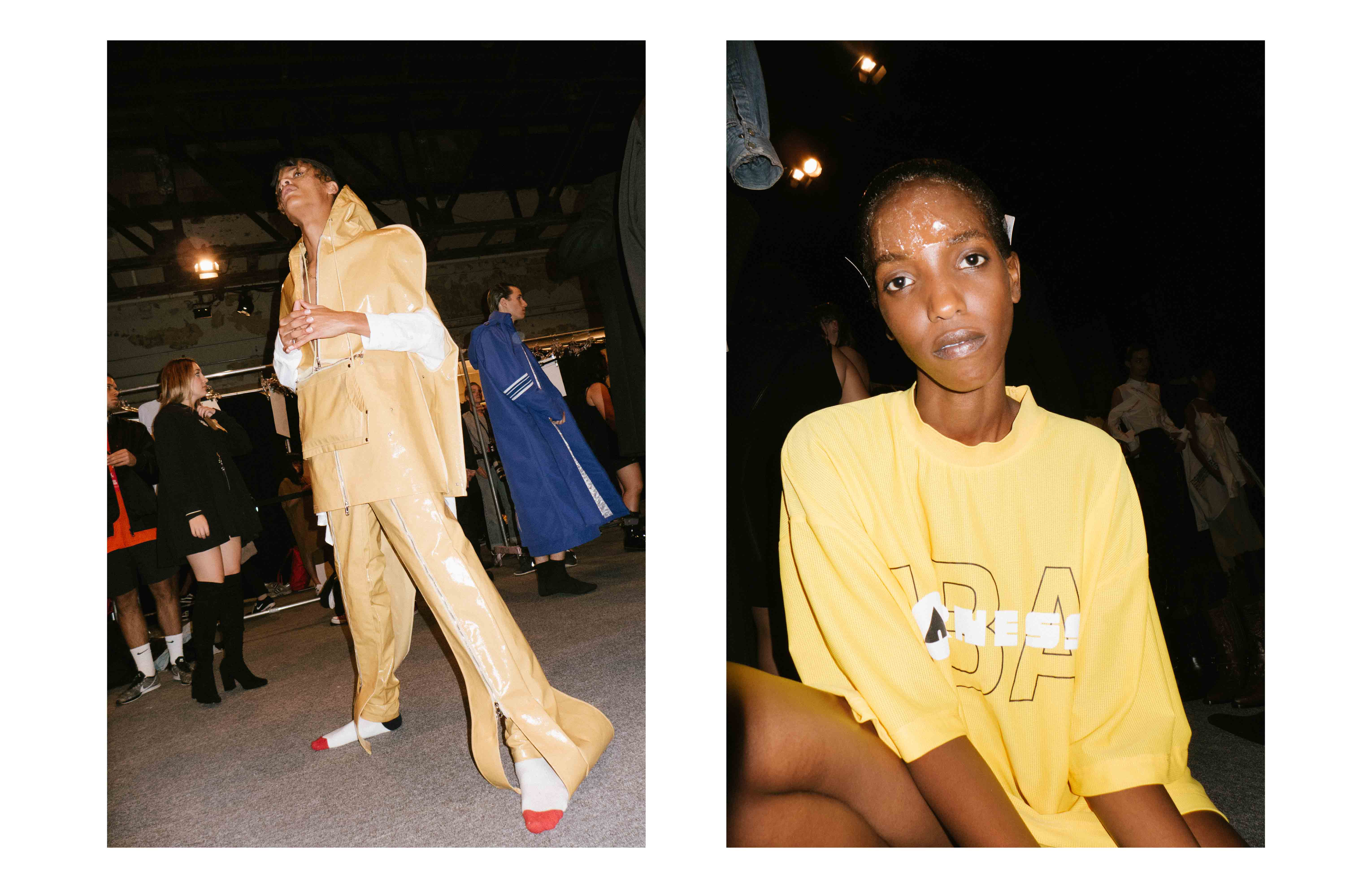 Backstage : Hood By Air spring-summer 2017 fashion show
