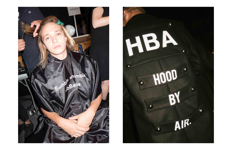 Backstage : le défilé Hood By Air printemps-été 2017
