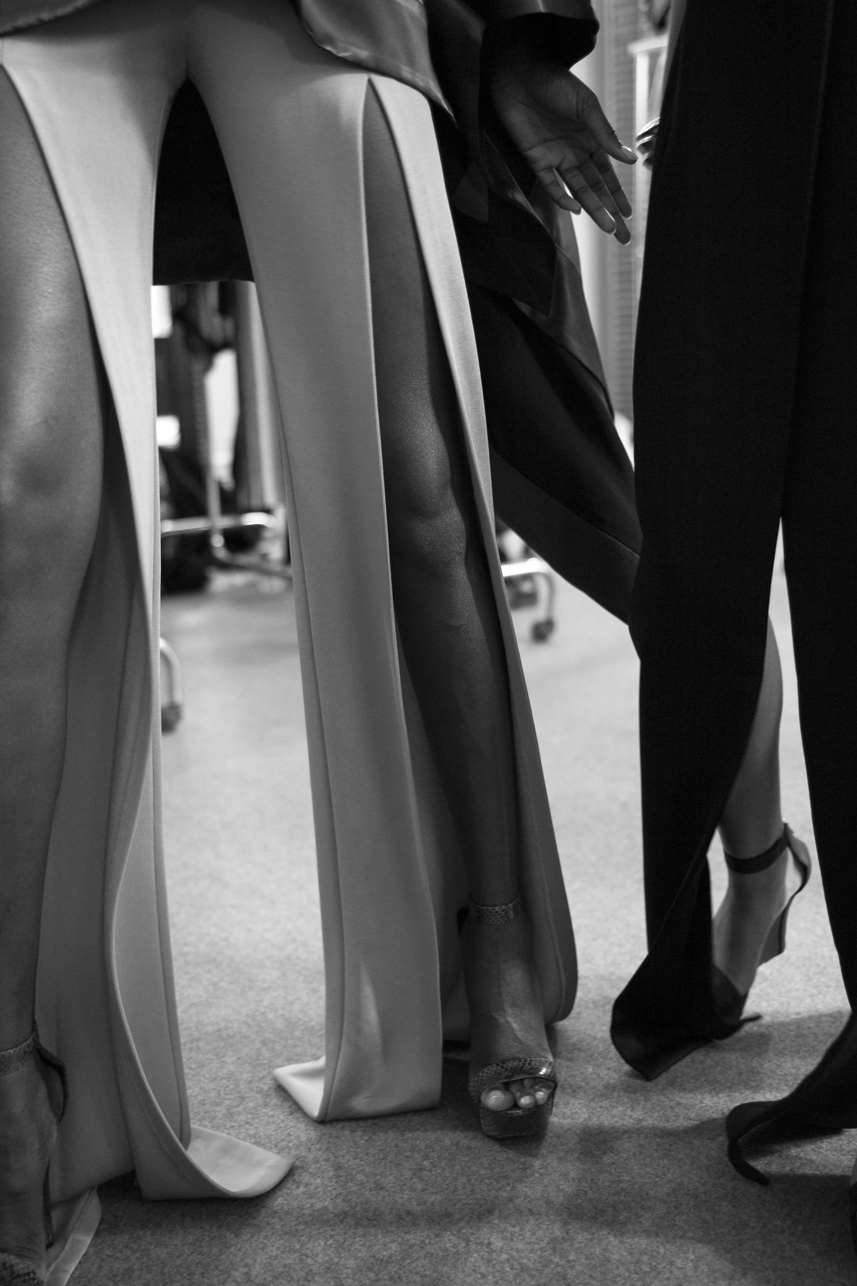 Backstage : Balmain spring-summer 2017 show seen by Mehdi Mendas