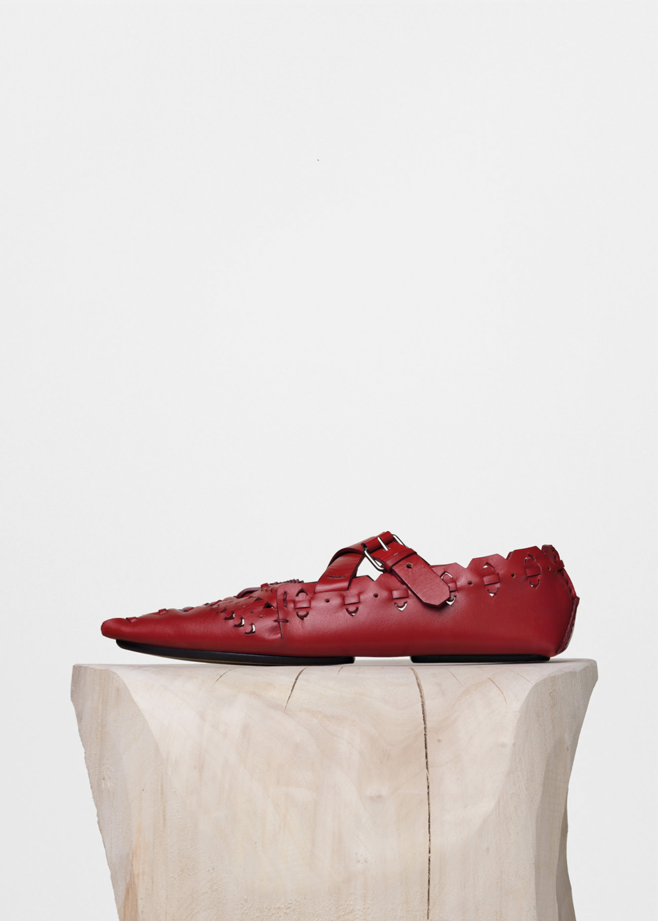 Leather shoe, CÉLINE.       Selection by Rebecca Bleynie