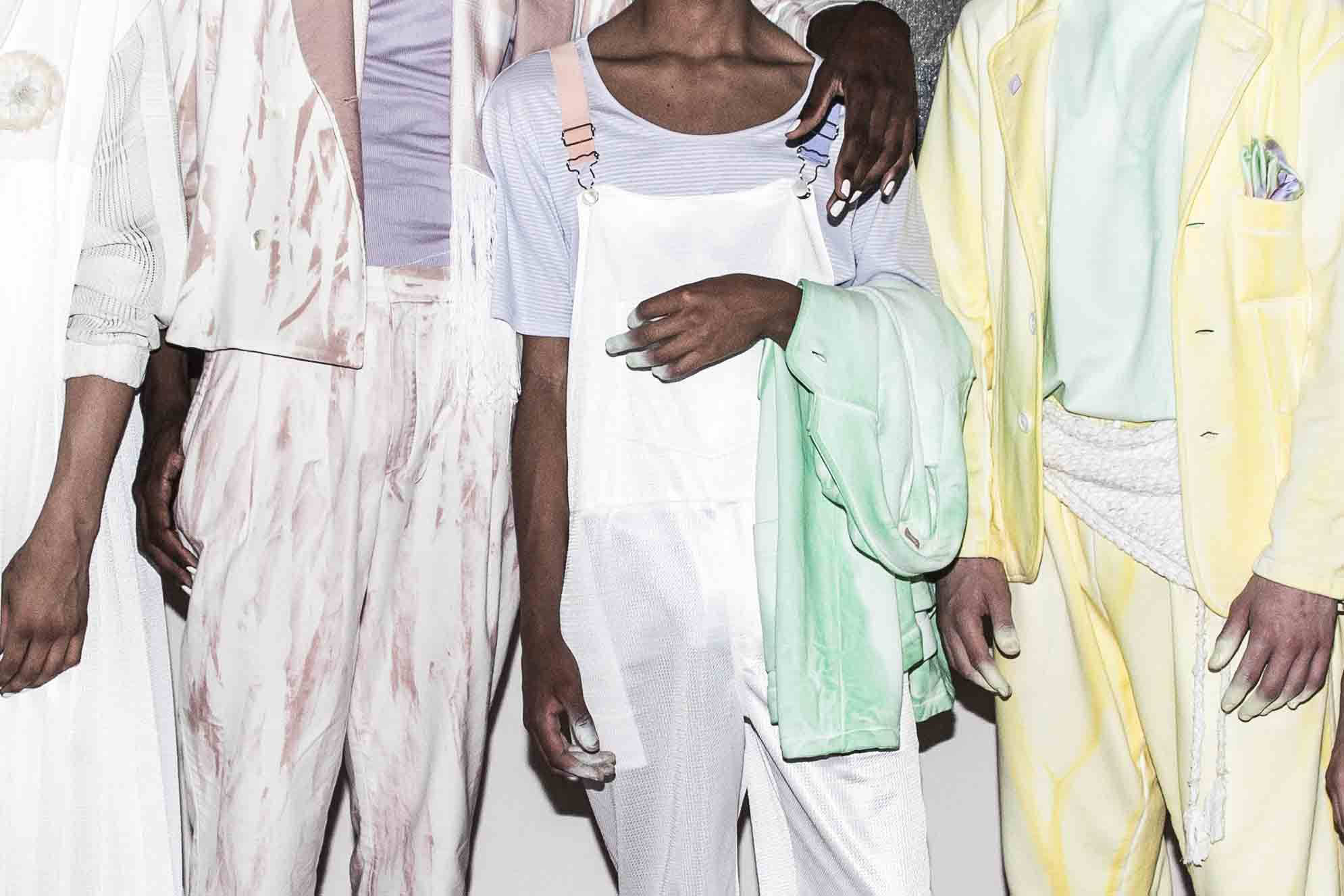 Backstage: Pigalle spring-summer 2017 show seen by Mehdi Mendas