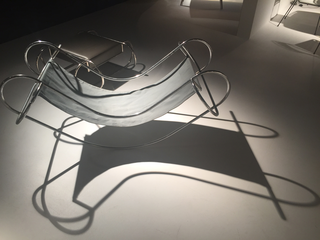 Rocking chair, 1971, AtelierA, by Jean-Michel Sanejouand from Jousse entreprise.