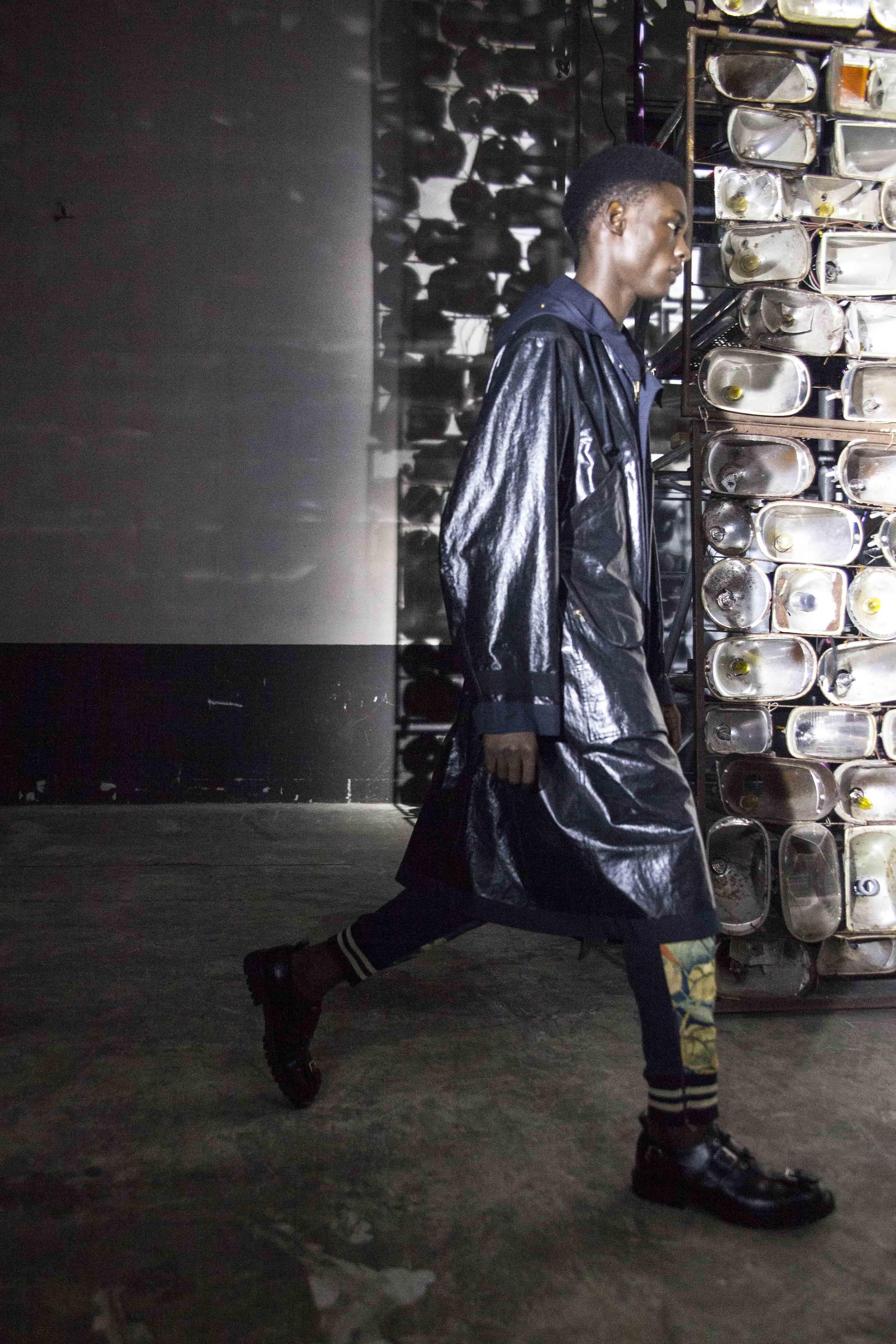 Backstage: Dries Van Noten spring-summer 2017 fashion show for men seen by Mehdi Mendas