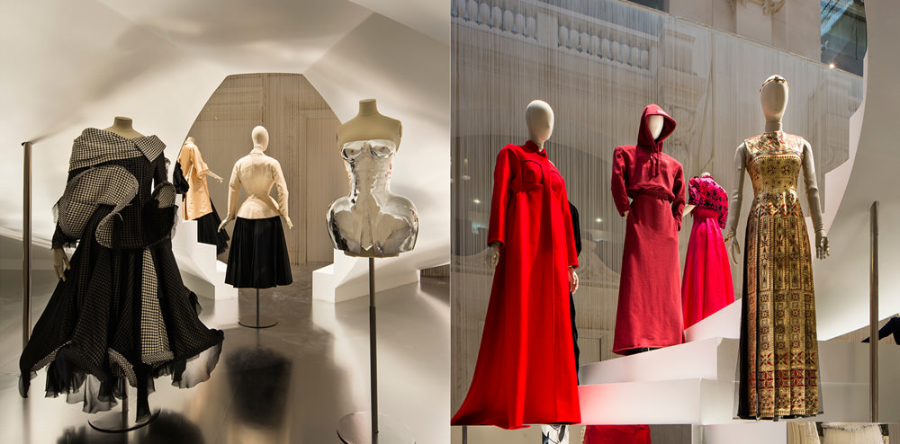 La mode scandaleuse  Audacieuse, scandaleuse, la mode a toujours fait couler beaucoup d'encre : des créations métalliques de Paco Rabanne en 1980 à la robe à dos nu plongeant deGuy Laroche pourMireille Darc dans Le Grand Blond avec une chaussure noire. En 2016, si le hoodie Vetementss'expose à 50 cm d'une robe d'inspiration antique Valentino par Maria Grazia Chiuri et Pierpaolo Piccioli sans que personne ne s'en étonne, c'est justement grâce aux décennies précédentes, durant lesquelles créateurs de mode et personnalités avant-gardistes ont jeté des pavés dans la mare.