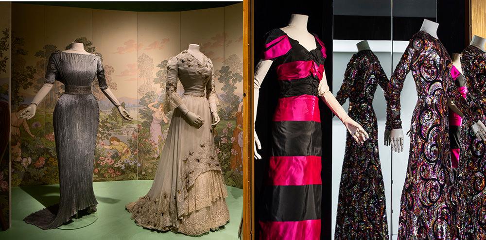 Le créateur artiste  En déambulant parmi ces créations d'exception, on ne peut qu'admirer la splendeur des plissés de Madame Grès, ou la complexité des robes sous Louis XVI.On s'arrête devant une robe entièrement brodée deChanel,qu'elle date du début du XXe siècle ou qu'elle soit signée deKarl Lagerfeld pour le printemps-été 1996.On est ébloui par les toilettes perlées de Napoléon et de l'impératrice Joséphine.On reste bouche bée face à la robe tout en volume de Rei Kawakubo pour Comme des Garçons,et on est hypnotisé par un fourreau doré de Pierre Balmain.Finalement, on se rappelle avec émotion que l'immense talent des créateurs et des artisans a façonné la mode d'aujourd'hui.