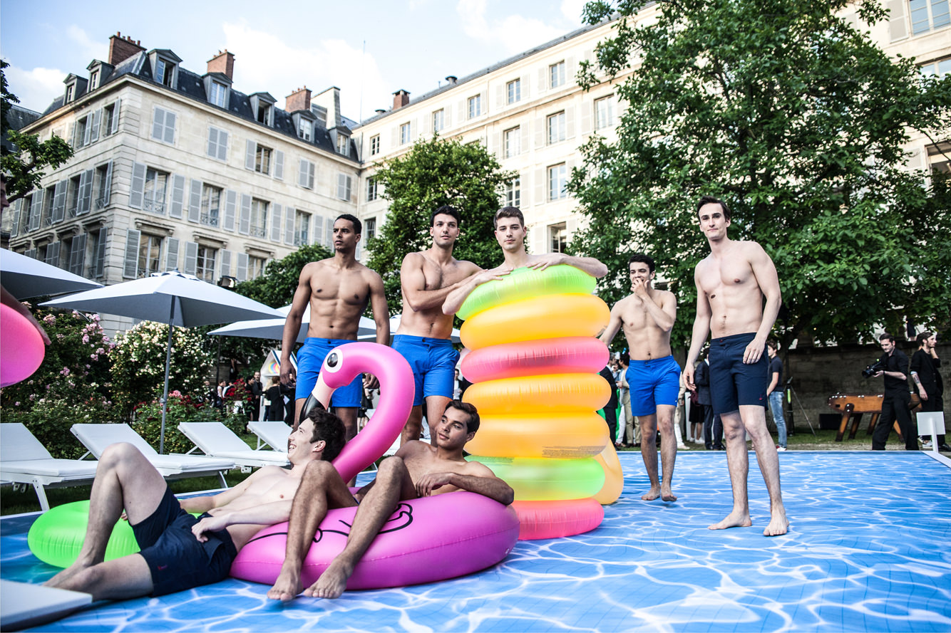 Berluti spring summer 2017 presentation seen by mehdi for Pool fashion show