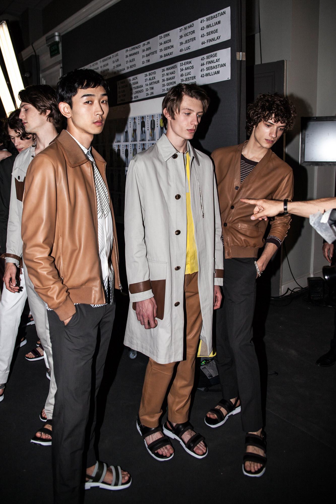 Backstage: Hermès spring-summer 2017 show