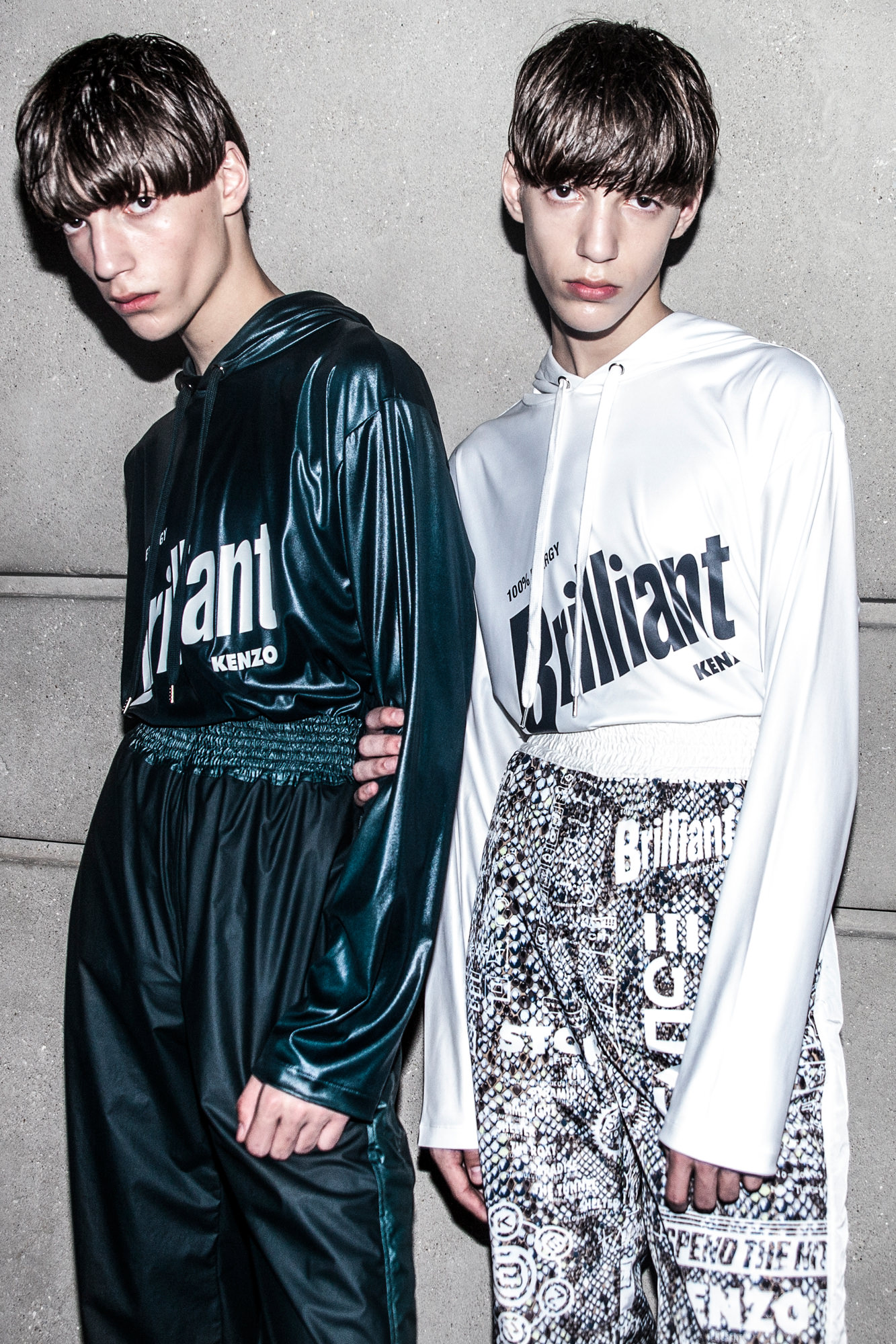 Backstage: Kenzo spring-summer 2017 show
