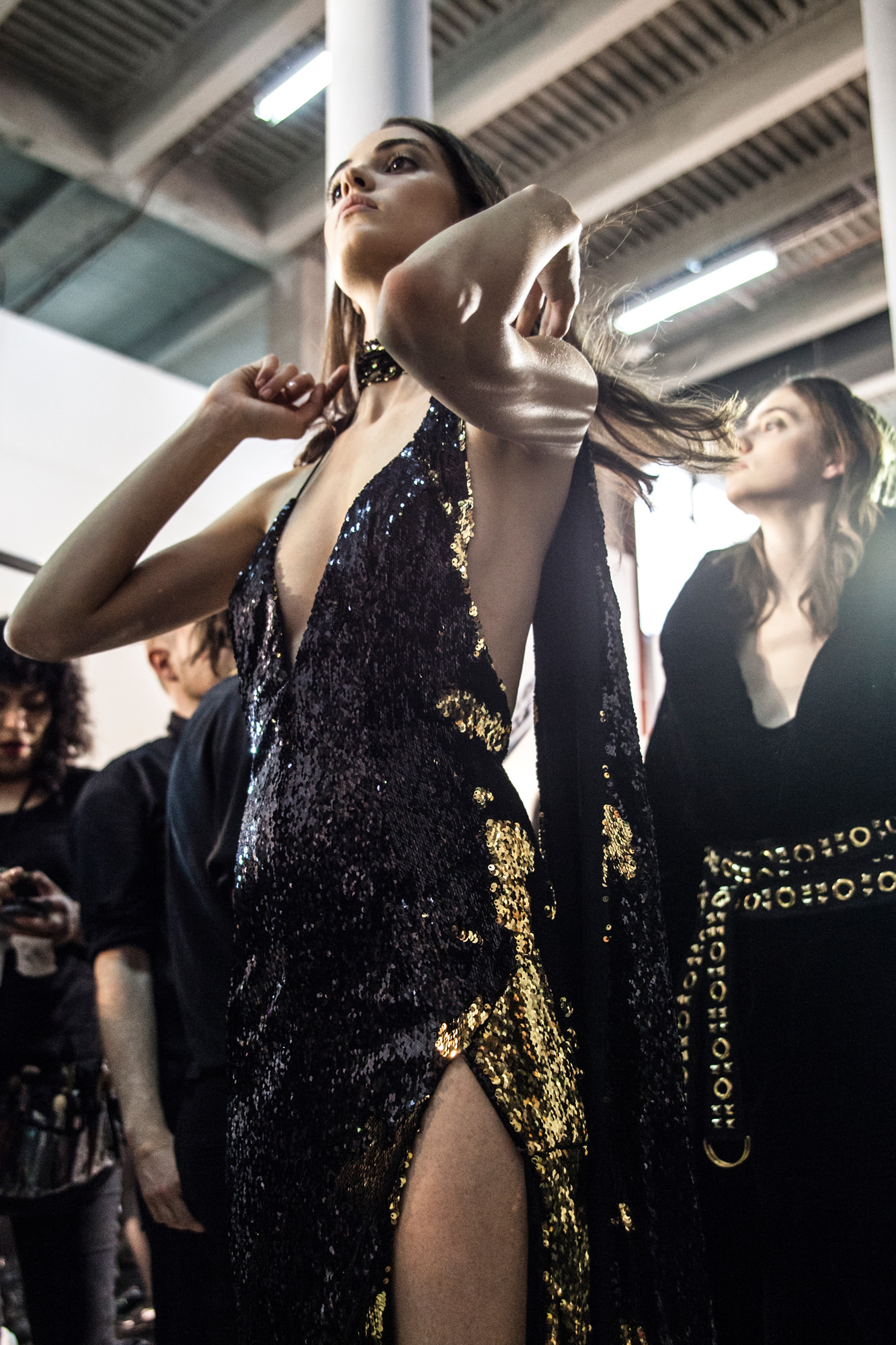 Backstage: Alexandre Vauthier haute couture fall-winter 2016-2017 runway show