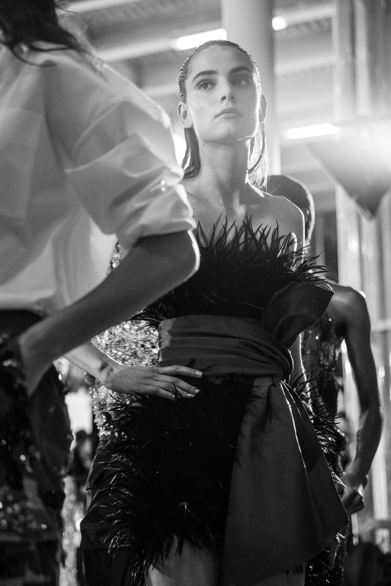 Backstage : le défilé Alexandre Vauthier haute couture automne-hiver 2016-2017