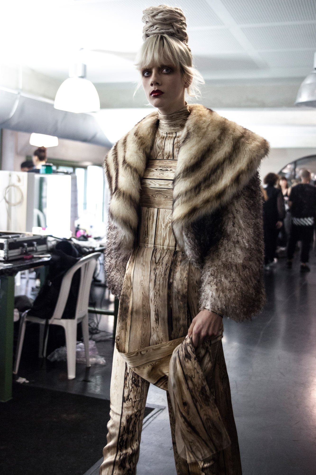Backstage: Jean Paul Gaultier haute couture fall-winter 2016-2017 runway show