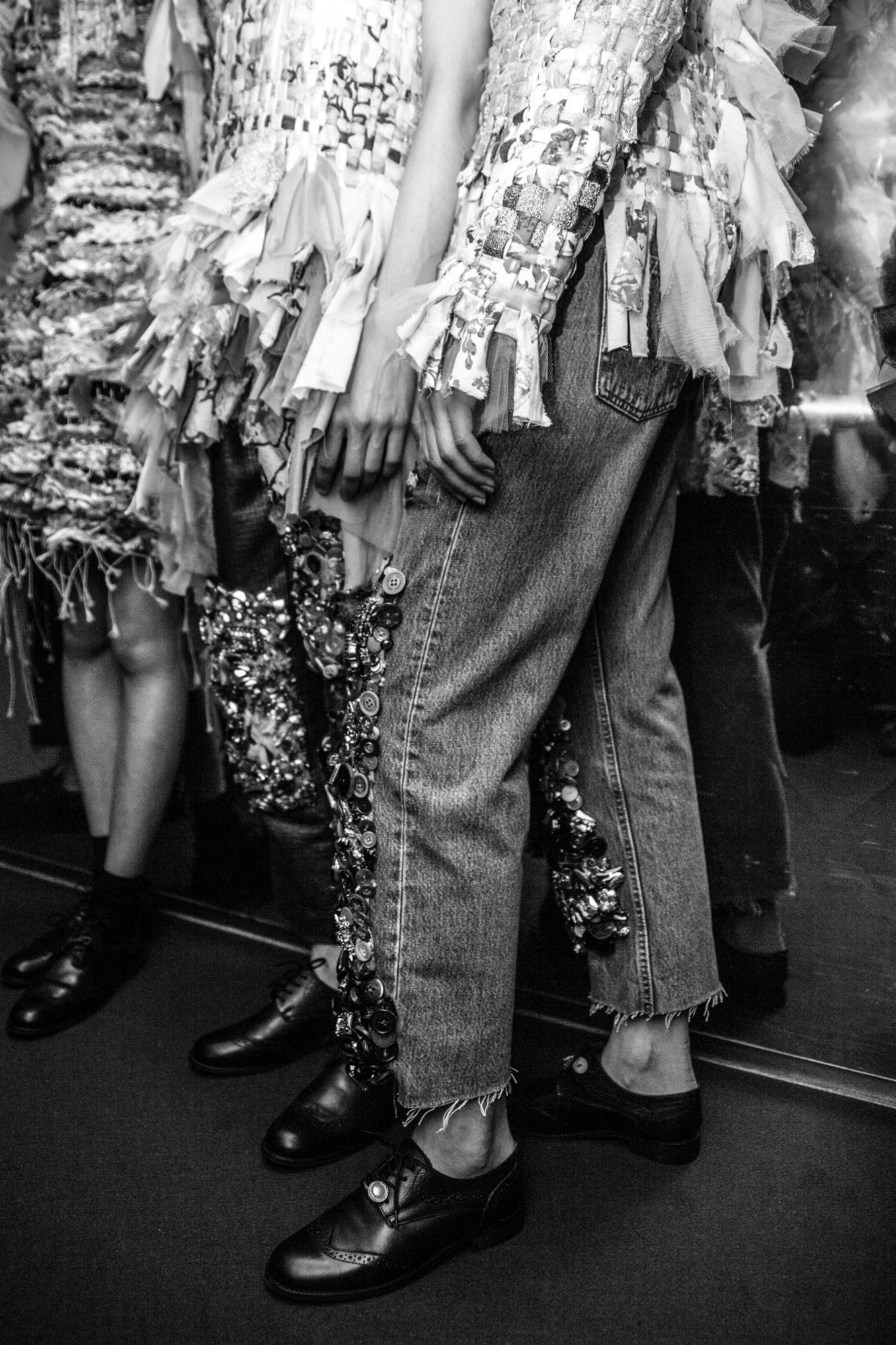 Backstage : le défilé Viktor & Rolf haute couture automne-hiver 2016-2017