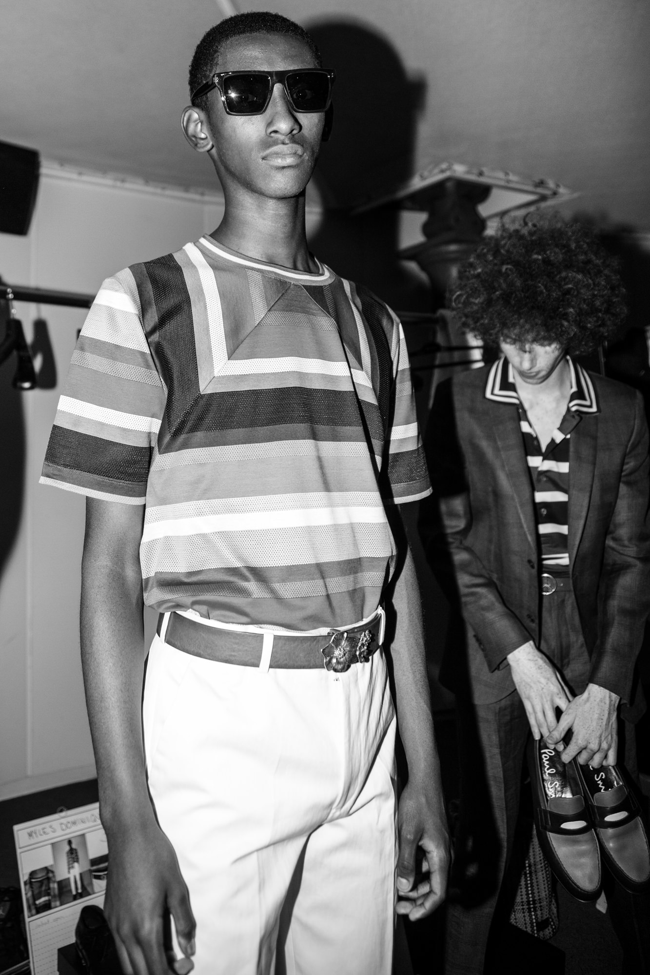 Backstage: Paul Smith spring-summer 2017 show