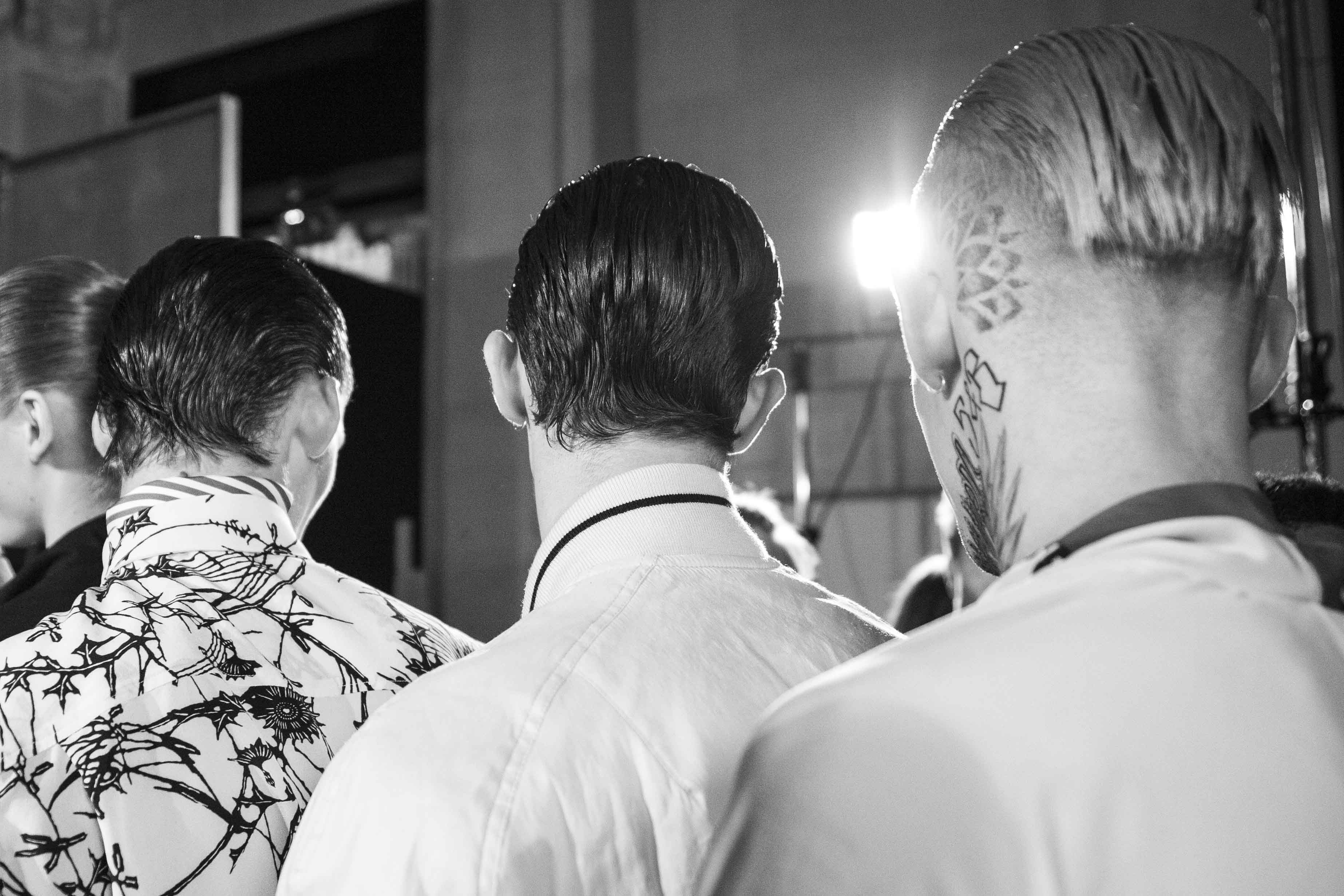 Backstage: Haider Ackermann spring-summer 2017 show for men
