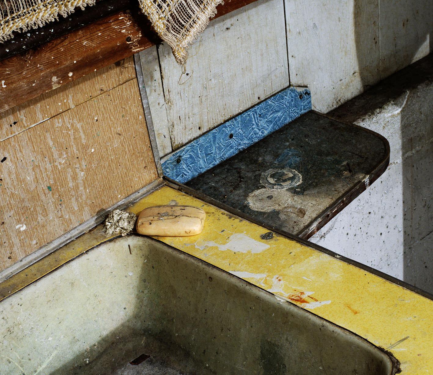 Diagonal Composition, 1993 Transparent dans caisson lumineux  ExpositionSmaller Pictures, du 9 septembre au 20 décembre 2015 à la Fondation Henri Cartier-Bresson www.henricartierbresson.org