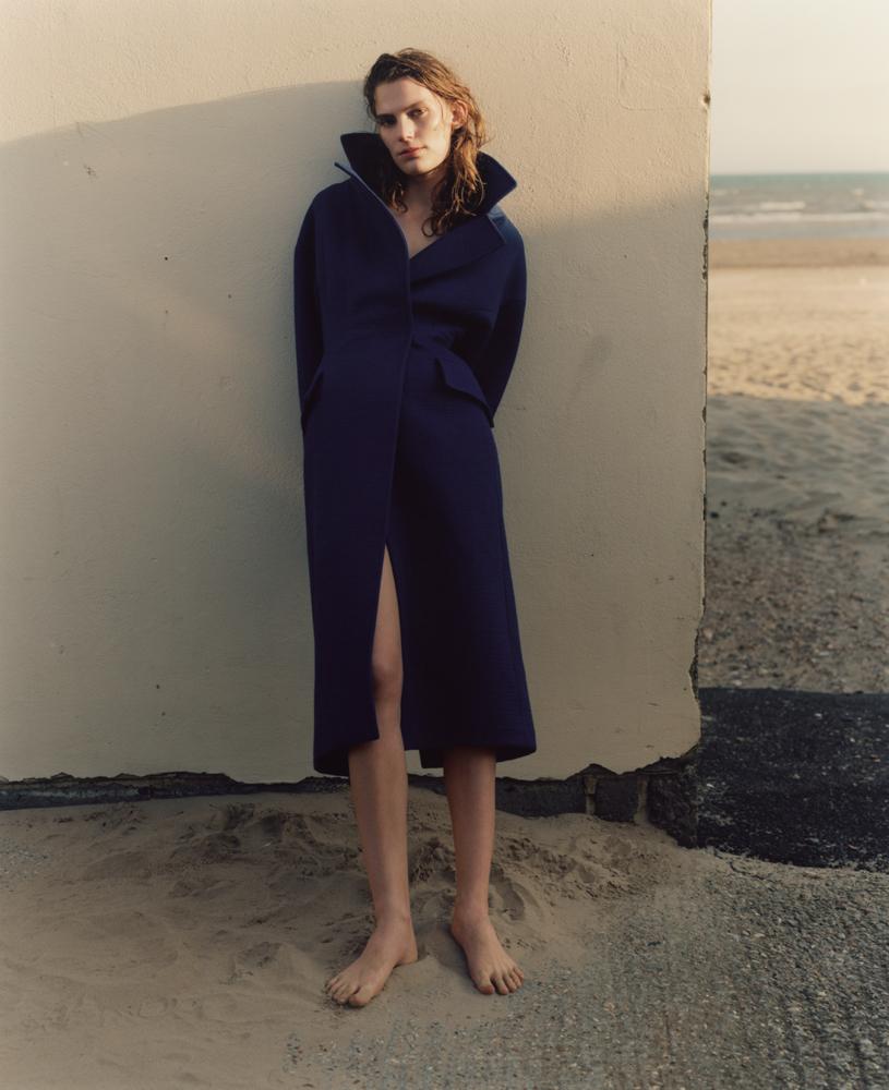Manteau en laine, MSGM.