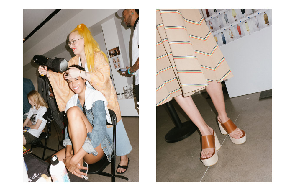 Backstage: Lacoste spring/summer 2017 fashion show