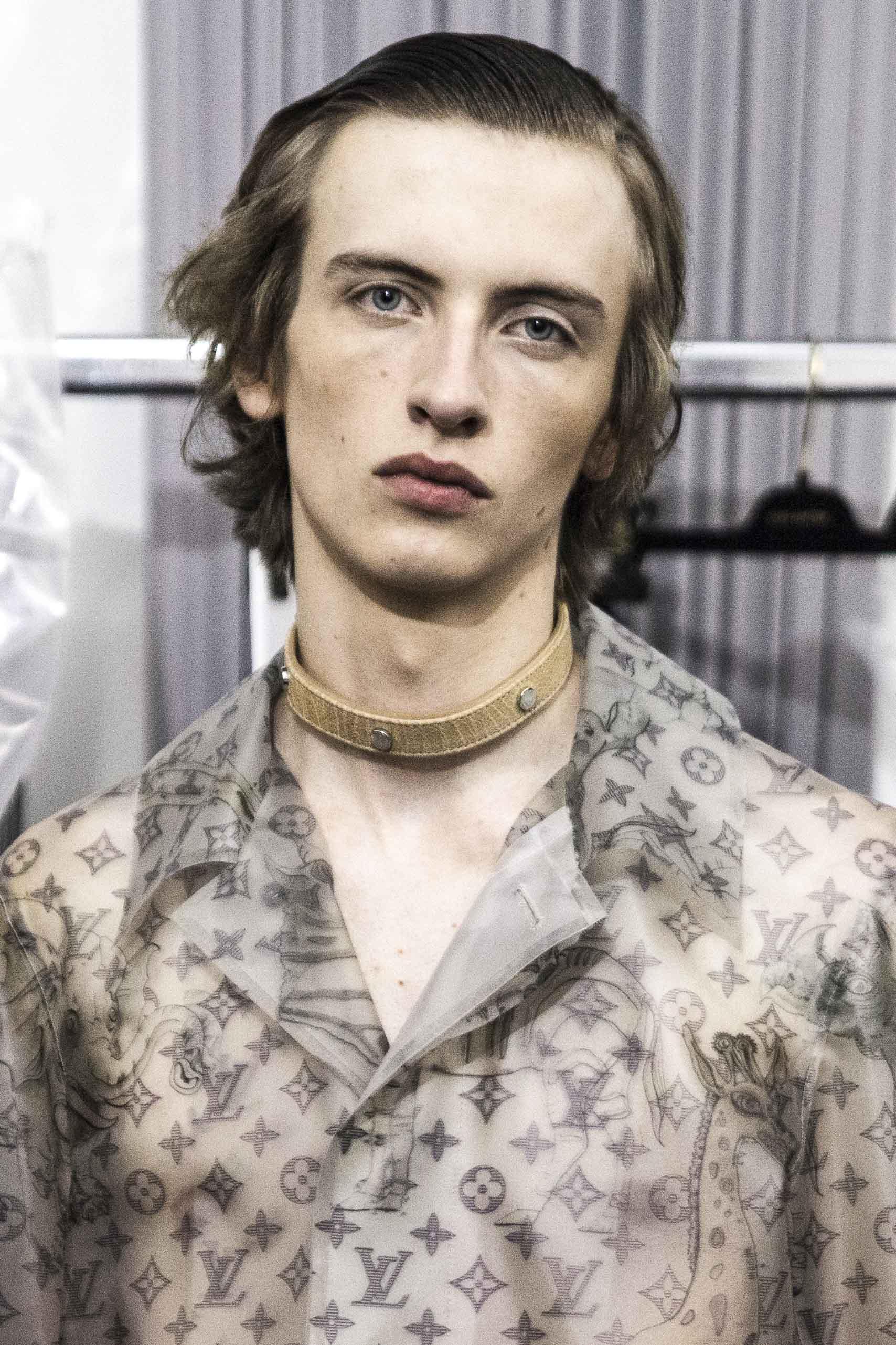 Backstage : le défilé homme Louis Vuitton printemps-été 2017
