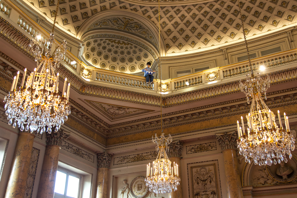 Maurizio Cattelan, Sans titre, 2003  Polyester resin, synthetic hair, clothes, shoes, electronic devices, stainless steel drum Photo : Zeno Zotti  View from Maurizio Cattelan exhibition, Not Afraid of Love at Monnaie de Paris, from october 21rst 2016 until January 8th 2017     When we look at your most famous works – for example La Nona Ora or Him – the context in which they were received is so important it almost overwhelms them. Can we still look at your works with a naive eye? Is the context in which they were initially received now part of the work? Do you play with that? It sure as hell is: the context of a work is part of its meaning, as much as is the point of view − cultural, psychological, social − of the onlooker. Art is a territory that everyone has the skills to explore, because no alphabet is involved, but at the same time no one will get the same sensations and experience as his or her travelling companions. It's the reign of subjective interpretation.