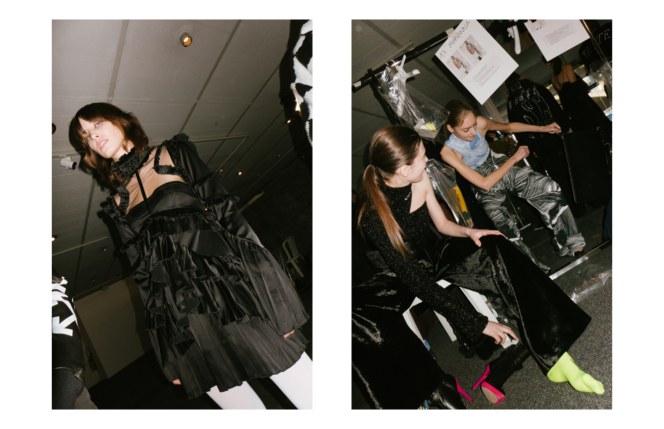Backstage : Off-White Fall-Winter 2017 show seen by Yulya Shadrinsky