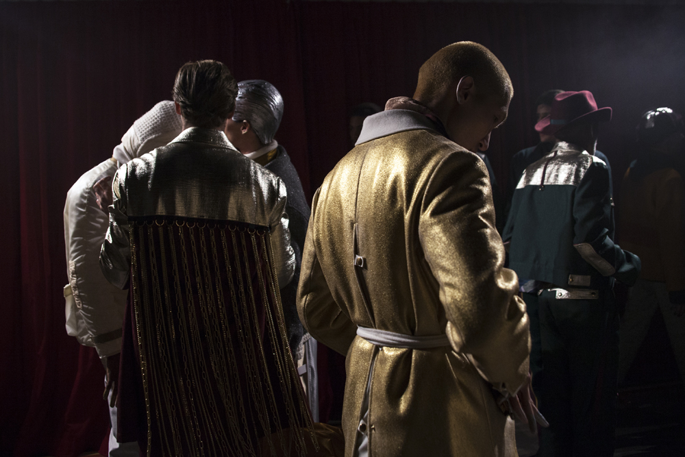 Pigalle Paris Fall-Winter 2017 show seen by Mehdi Mendas
