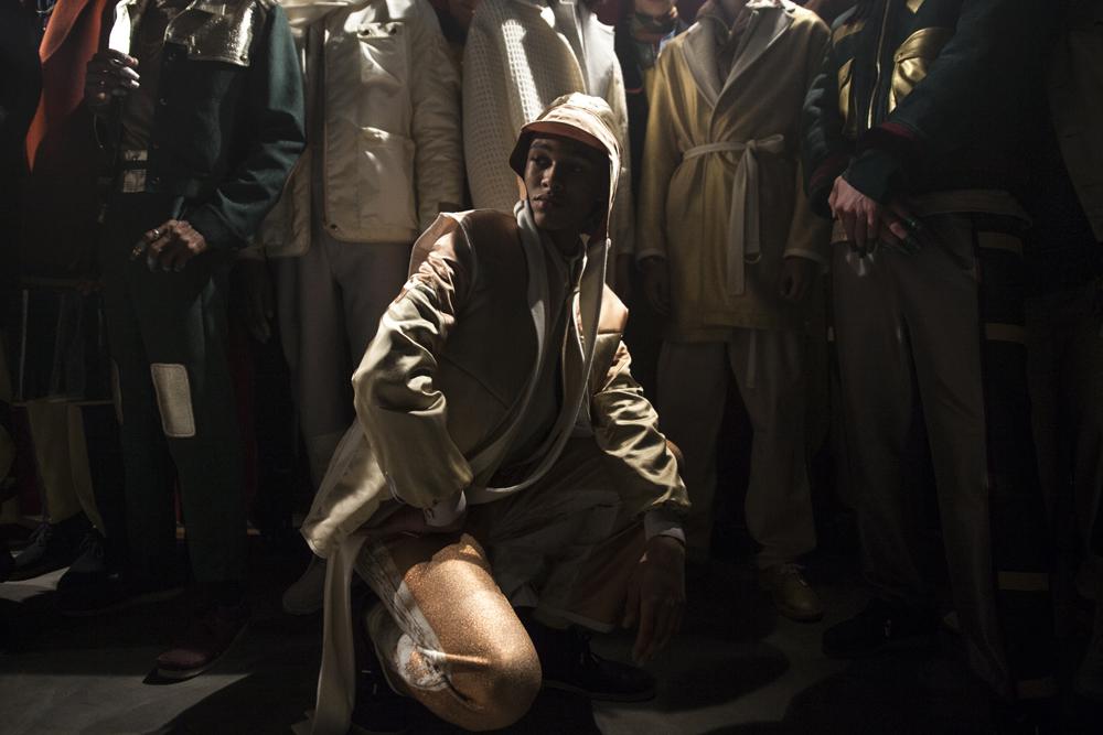 Le défilé Pigalle Paris automne-hiver 2017-2018 vu par Mehdi Mendas