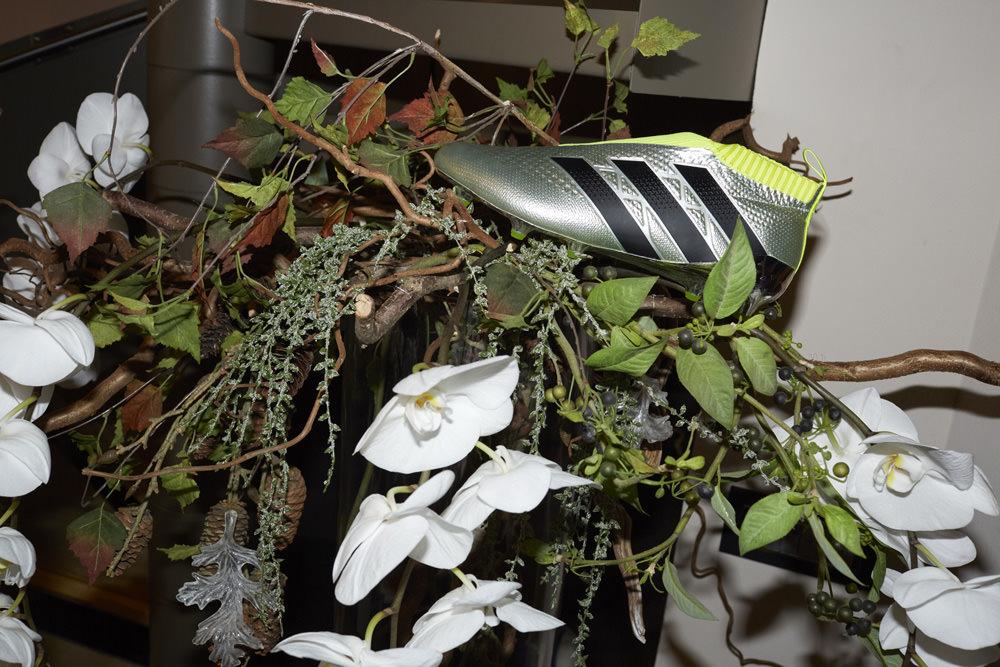 La ACE 16+ PURECONTROL, la chaussure imaginée par Paul Pogba pour Adidas et photographiée par Juergen Teller.