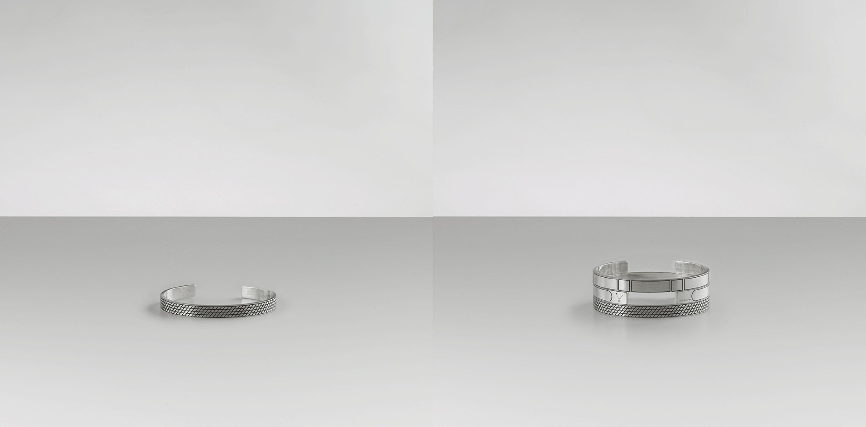Le Gramme, collection spéciale pour Le Bon Marché  Comment avez-vous développé votre marque, tant sur le plan créatif que sur le plan commercial? Nous avons d'abord décliné une version de bracelet en argent poli à l'extérieur et brossé à l'intérieur. Puis en argent noir (fruit d'un traitement galvanique), puis en or 18 carats, jaune et rouge. En 2015, nous avons élaboré une forme d'anneau aussi élémentaire que celle du bracelet. Nous avons également développé différentes textures, le guillochage en pyramide, et le guillochage horizontal. À l'occasion de la fête des Pères, nous lançons au Bon Marché les modèles gravés. Mais ce qui est véritablement passionnant, c'est de voir la façon dont nos clients s'approprient nos pièces: en les combinant, ils créent des motifs et des configurations qui leur sont propres. À l'avenir, nous envisageons d'étendre notre démarche à d'autres univers afin de construire une vraie marque lifestyle, en commençant par les objets servant à l'écriture, et à l'univers du voyage.  www.legramme.com Le gramme sur Instagram  Photos: ludovic Parisot