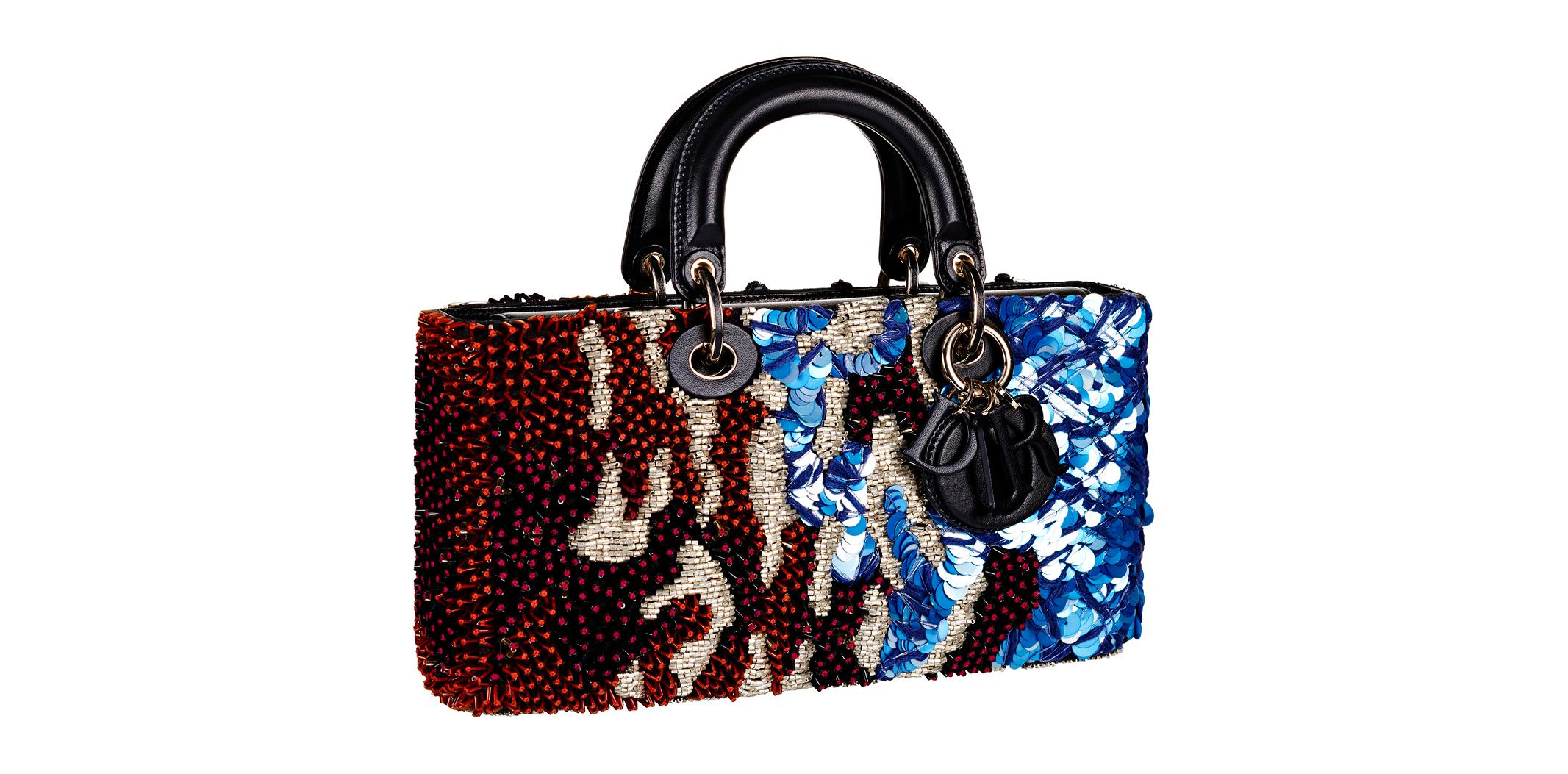 L'objet fétiche de la semaine : le sac Dior brodé